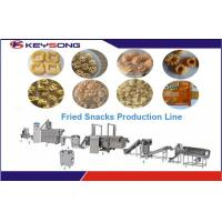 Buy cheap Fried Bugles Snack Food Processing Equipment , Snack Food Extruder Machine product
