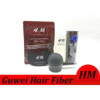 Buy cheap Multiple Color Refillable Synthetic Hair Thickening Powder  25g / 50g / 100g product