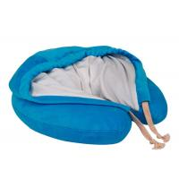 Buy cheap Hooded Memory Foam Neck Pillow U Hoody Travel Cushion With Carrying Case product