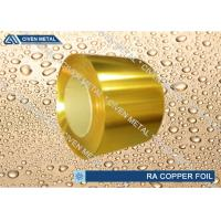 Buy cheap Engineering Machinery Brass Foil / shipbuilding thin brass sheet product