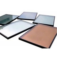 High Precision Flatness Pink Reflective Float Glass For Construction / Decoration