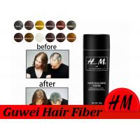 Buy cheap Thickening Hair Building Fiber Powder , Hair Loss Concealer Powder 28g Bottle product