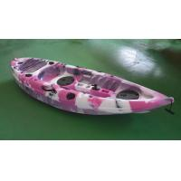 9FT Pro Angler Kayak Fishing Boats Outdoor Open Fishing Pink Color No - Inflatable