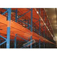 Buy cheap Q235B Steel Storage Racking Heavy Duty Industrial Shelving Max. 5 Deep Pallet product