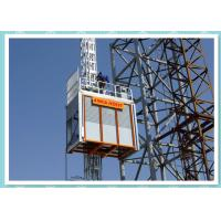 Buy cheap Heavy Duty Construction Passenger Hoist , Material Lift And Elevator product