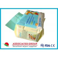 Buy cheap 25PCS / Bag Baby Wet Wipes Chamomile Skincare Essence Without Alcohol product
