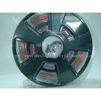 Multicolor gradient 3d printer filament, one roll have the many colors ,new filament