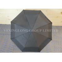 Buy cheap Classic Black Automatic Open Close Windproof Umbrella For Rain And Wind product