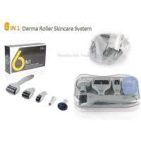 Buy cheap Grey Stainless Steel Needle Microneedle Skin Dermal Roller System 6 in 1 Roller product