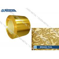 Buy cheap High precision brass foil C27000 for advanced industrial representative product
