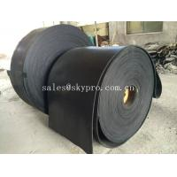 Buy cheap Multi-ply black EP rubber conveyor belt abrasion and heat resistant product