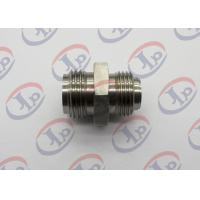 304 Stainless Steel Custom CNC Parts, Both End Thread Stainless Steel Joints