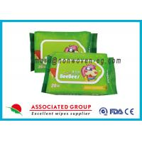 Buy cheap Reusable Biodegradable Wet Wipes Water Baby Wet Tissue Without Alcohol product