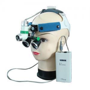3W LED Surgical Dentist Headlight with Binocular Loupe Magnifier 2.5X 3.5X 4.0X2.5X 3.5X 4.0X