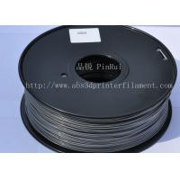 High strength ABS 3d Printer Filament 1.75mm Silver filament materials