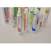 Buy cheap Squeeze Metal Aluminum Packaging Tubes For Gels / Creams / Ointments product