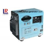 3000rpm / 3600rpm 6KW AC Single phase Air-cooled Diesel Generator Electric Start