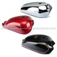 Buy cheap Red / Black Motorcycle Fuel Tank / Gas Tank Cafe Racer Motorcycle Parts from wholesalers