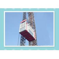 Buy cheap Personnel And Material Construction Elevator Hoist In Single And Twin Cage product
