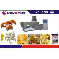 Quality Yam Chips Snacks Puff Extruder Machine , Full Automatic Potato Chips Making Machine for sale