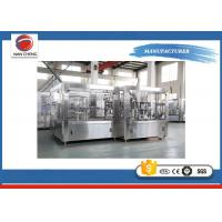 Large Capacity Fruit Juice Filling Machine High Performance 9.5kw High Filling Precision