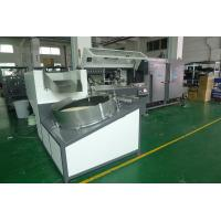 Plastic Container Automatic Screen Printing Machine 4000Pcs / Hr With Unscramble