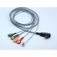 Buy cheap DMS holter ecg patient cable with 5lead / 7lead / 10lead for DMS300 / 300-3A from wholesalers