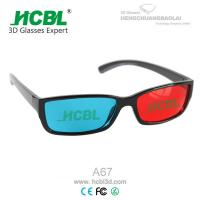 Folding Binoculars Magenta Green Anaglyph 3D Glasses Compatible with Nvidia 3d Vision