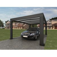 Buy cheap Anthracite Garden Shade Netting / Carport Cubus Single Genua Induction Garage product
