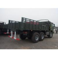 Heavy Army Transport Truck , 6x6 HW76 Cab One Sleeper Military Cargo Truck