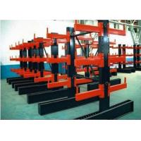 Double Sided Cantilever Pallet Racking , Heavy Duty Warehouse Rack And Shelf