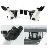 Infinity Optical Inverted Metallurgical Microscope , Mechanical Stage Microscope
