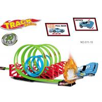 7 Loops 360° Flip Toy Race Car Track Sets , Race Track Toys For Boys