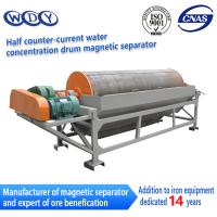 Wet Type Magnetic Drum Separator Wet  Permanent Iron Removing Machine