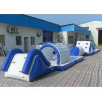 Eco Friendly Inflatable Water Toys Tear Resistant Bouncy Obstacle Course