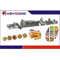 Buy cheap Core Filling Snacks Food Making Machine Double Screw Extrusion 304 Stainless Steel product