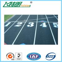 Buy cheap 13mm Mixed Running Track Surfaces Recycled Granules Athletic Runway Surface product