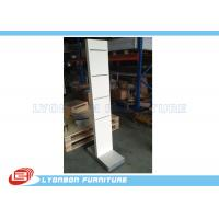 Buy cheap White Wooden Display Racks Customize For Shop , Exhibit Display Stands from wholesalers