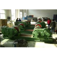 Automatic Welding Pipe Turning Rolls , 150ton Cylinder Welding Rotator in Green