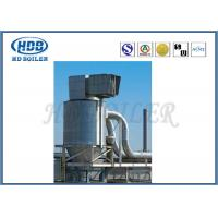 Steel Single High Efficiency Cyclone Dust Collector , Industrial Cyclone Dust Collector