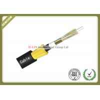 ADSS All Dielectric Self Supporting Aerial Fiber Optic Cable With FRP Central Strength Member