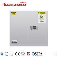 Fire Resistance Poison Storage Cabinet 1120*1090*460 mm For Toxic Chemical Liquids