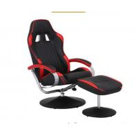 Racing Style PU Adjustable Office Chair With Arms / Comfortable Computer Chairs