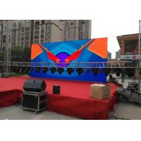 Buy cheap Outdoor Stage Led Display HD Video Display signs P4.81 Ultra Thin & Eco friendly Outdoor Led Screens product