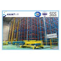 Buy cheap Heavy Duty ASRS Automated Storage Retrieval System , Automated Warehouse Racking Systems product
