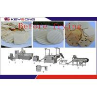 Buy cheap Fully Automatic Doritos Chips Making Machine , Fried / Dried Corn Tortilla Making Equipment product