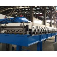 5 Tons Roof Panel Roll Forming Machine 1.0 Inch With Film System