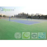Acrylic Tennis Court Surface 2-7 Mm Thickness , Reducing Injury To Athletes