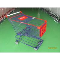 Supermaket store 150L asian style Wire Shopping Trolley carts with wheels