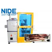 Horizontal Toroid Full Automatic Coil Winding Machine For Big Wire Electric Motor Stator